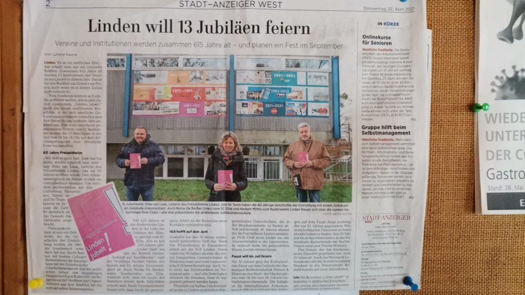 SC Elite Linden Jubiläen